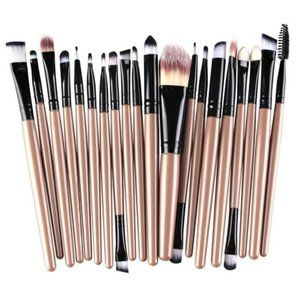 NEW 20pc Nude Pro Makeup Brush Set